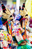 Cham Mystery, Nepal Royalty Free Stock Images
