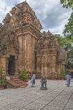 Cham Tower, the temple complex Po Nagar Nha Trang, Vietnam royalty free stock photos