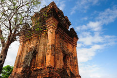 Cham tower royalty free stock photography