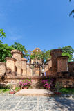 Cham towers of Po Nagar. Famous palace in Nhatrang, Vietnam Royalty Free Stock Photo