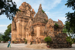 The Cham Towers in Vietnam Stock Photos