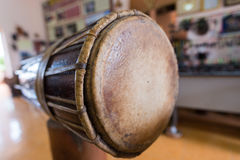 Cham tradition drum at Vietnam - Otc 08 2016 Stock Images