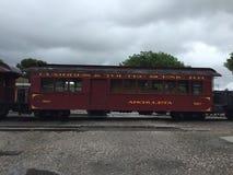 Chama火车乘驾新墨西哥 免版税库存照片