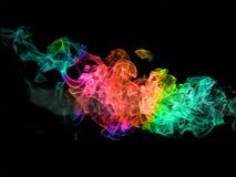 Chama da cor Imagem de Stock Royalty Free