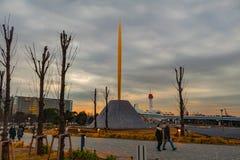 A chama da estátua da liberdade fotos de stock