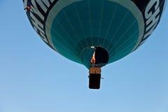 Chama do balão sobre Fotografia de Stock