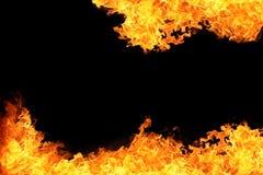 chama do fundo da chama do fogo Fotografia de Stock
