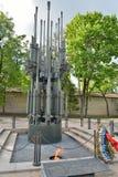 A chama eterno em Pskov no túmulo do soldado desconhecido Me Foto de Stock Royalty Free