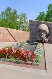 A chama eterno no complexo do memorial Imagem de Stock