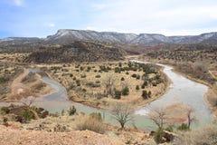 Chama River New Mexico imagens de stock