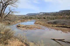 Chama River New Mexico Royalty Free Stock Photography