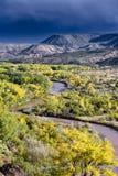 Chama River Overlook Foto de archivo libre de regalías