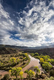 Chama River Overlook Royalty Free Stock Image