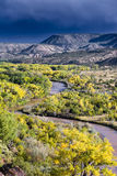 Chama River Overlook Royalty Free Stock Photo