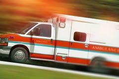 Chamada de emergência da ambulância Imagens de Stock
