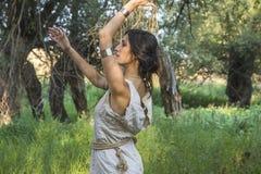 Chaman gitan Woman Images libres de droits