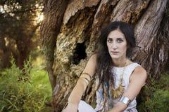 Chaman gitan Woman Images stock