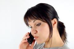 Chamando a mulher #7 Imagem de Stock
