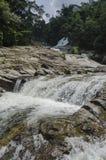 Chamang vattenfall, Bentong, Malaysia royaltyfria bilder