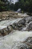 Chamang vattenfall, Bentong, Malaysia royaltyfri foto