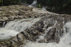 Chamang-Wasserfall, Bentong, Malaysia stockfoto