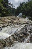 Chamang Waterfall, Bentong, Malaysia. Nature beauty water fall at Bentong, Pahang Royalty Free Stock Photos