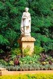 Chamarajendra Wadiyars statua przy Cubbon parkiem, Bengaluru (Bangalore) Obrazy Stock