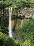 Chamarel Falls. The Chamarel Falls on the island of Mauritius in the Indian Ocean Stock Photo