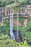 Chamarel falls in Mauritius Stock Photography