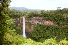 Chamarel falls Stock Image