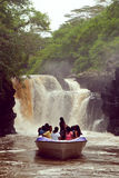 The Chamarel falls Stock Photography