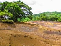 chamarel mauritius Arkivfoto