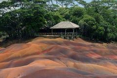 Chamarel Mauritius Arkivfoton