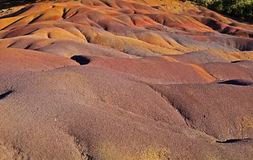Chamarel seven colored earths Stock Photo