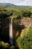 Chamarel vattenfall, Mauritius Royaltyfri Fotografi