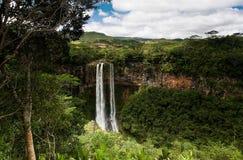 Chamarel Wasserfälle Lizenzfreies Stockfoto