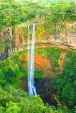 Chamarel Wasserfall Stockbild