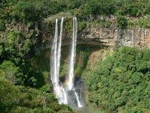 Chamarel waterfall Stock Photo
