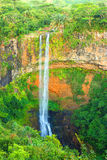 Chamarel waterfall. Stock Image