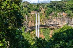 Free Chamarel Waterfall On Mauritius Stock Photos - 163754673