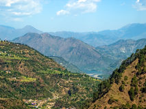chamba地区himachal印度pradesh 免版税库存图片
