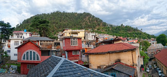 Chamba city at dawn Stock Photos