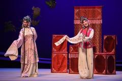 """Chamber†för """"the för opera för Cui Yingying 's-sjukdom-Kunqu västra  Arkivfoton"""