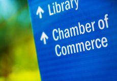 Chamber of Commerce Stock Image
