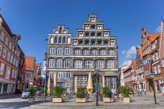 Chamber of Commerce at the central square of Luneburg Royalty Free Stock Images