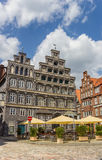 Chamber of Commerce at the central square of Luneburg Stock Images