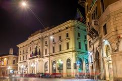 Chamber of Commerce of Ferrara Stock Photo