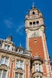 Chamber of commerce in Lille in a sunny day Royalty Free Stock Image