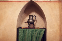 Chamber in greatest Gothic castle in Europe - Malbork Royalty Free Stock Images