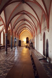Chamber in greatest Gothic castle in Europe - Malbork Royalty Free Stock Photos
